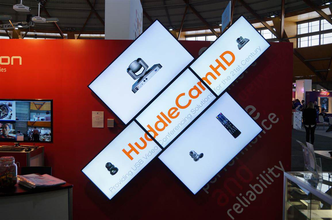 HuddleCamHD Camera Display