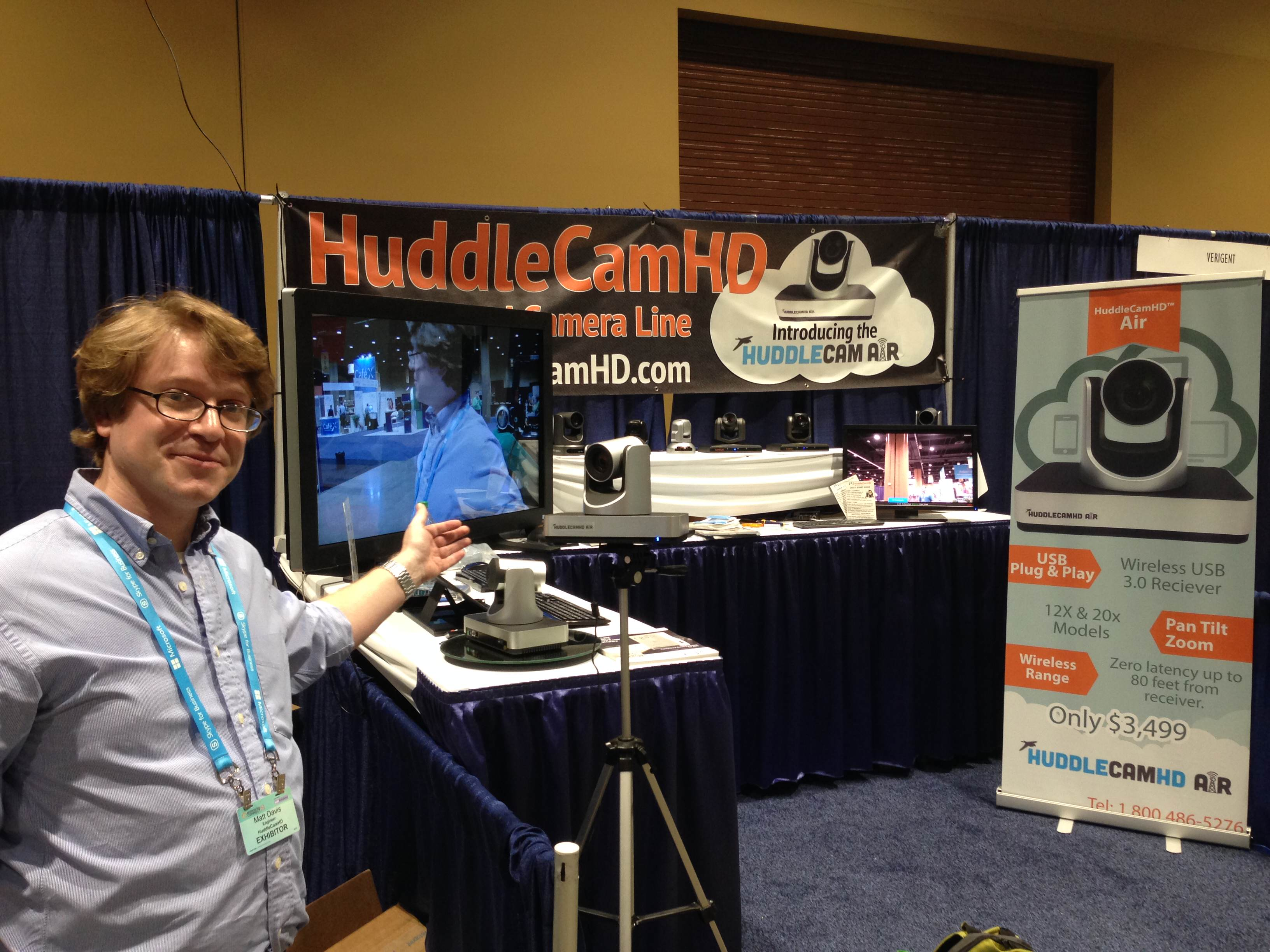 HuddleCam Air Wireless USB