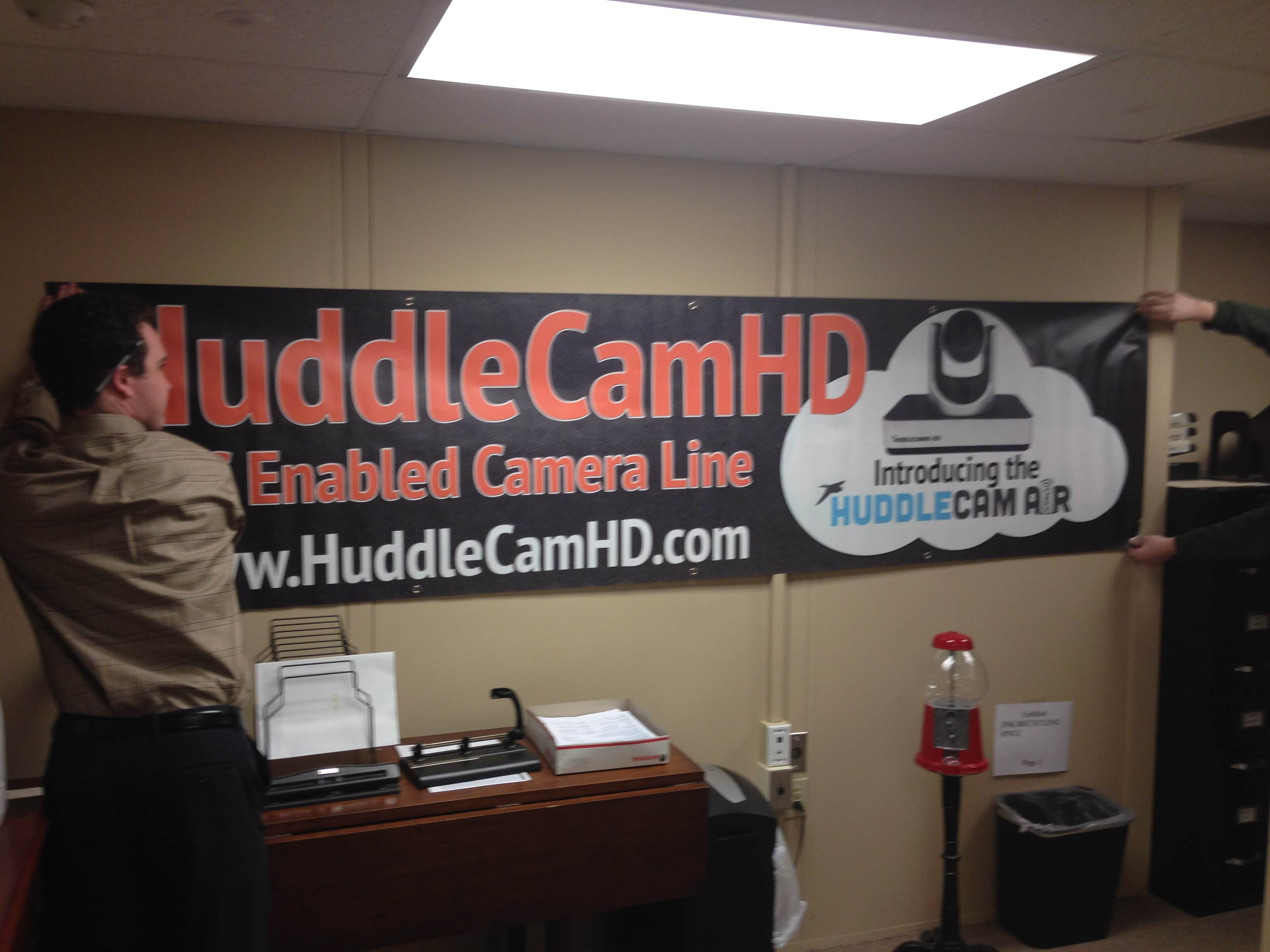 HuddleCam Air Banner