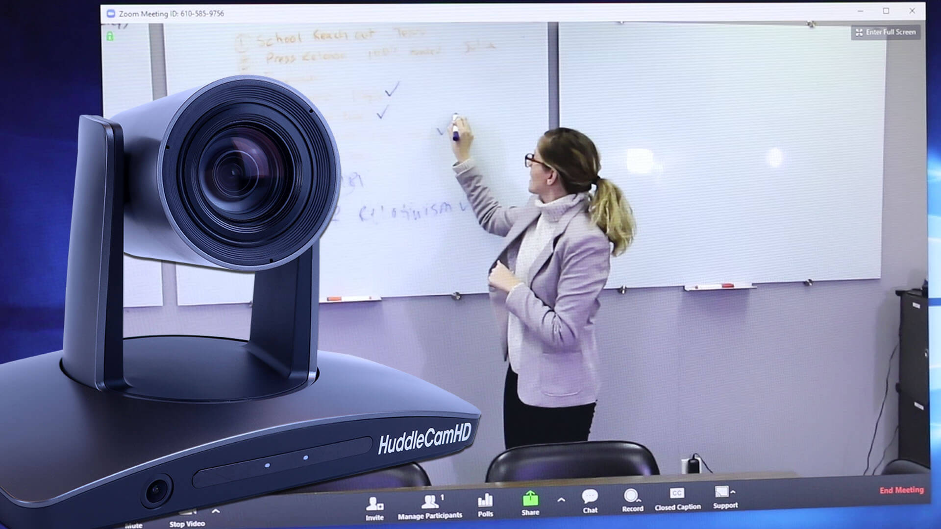 Auto Tracking Camera for Zoom Video Conferencing