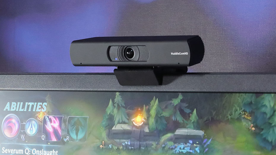 4K NDI ePTZ Webcam Monitor Mount