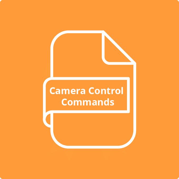 CAMERA CONTROL COMMANDS
