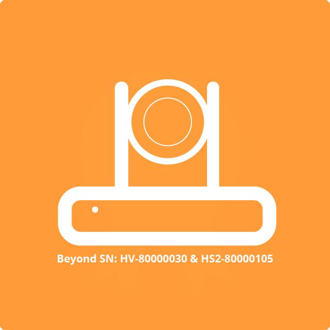 SimplTrack2 cameras beyond SN HV-80000030 & HS2-80000105