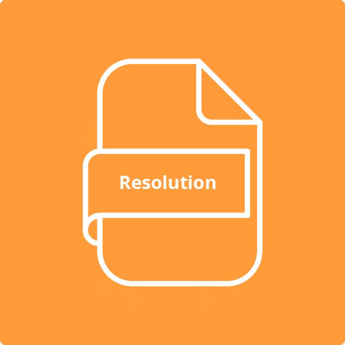 resolution change