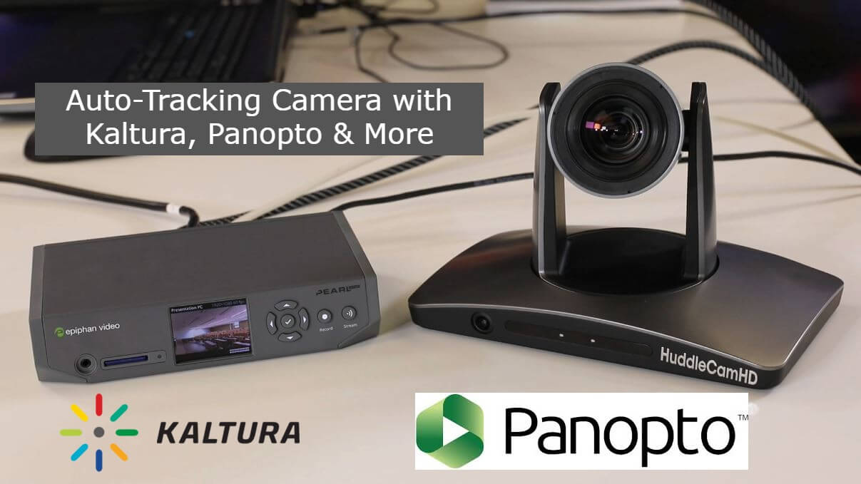 SimplTrack2 with Epiphan Pearl Nano for Lecture Capture